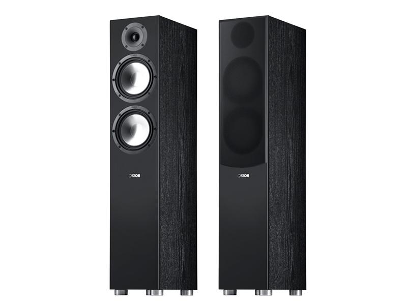 Колонки Canton GLE 476.2 2шт Black полочная акустика canton gle 420 2 black