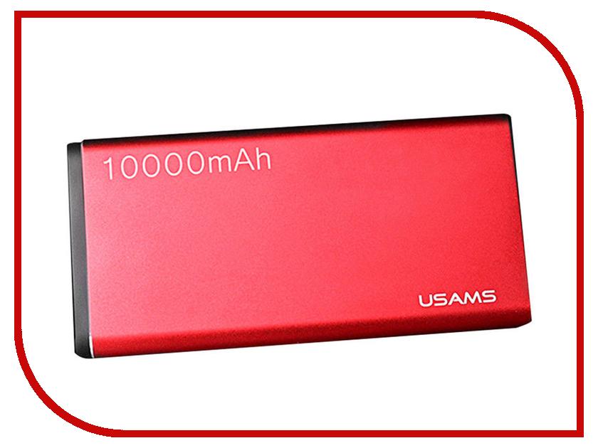 Аккумулятор USAMS Birkin Series US-CD23 10000mAh Red виниловая пластинка birkin jane birkin gainsbourg le symphonique