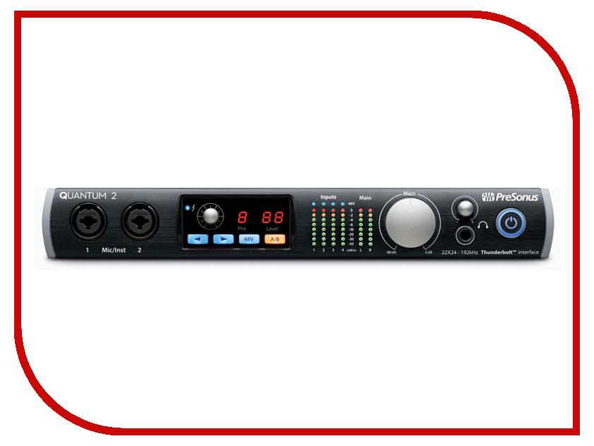 Аудиоинтерфейс PreSonus Quantum 2 grivel инструмент ледовый quantum tech