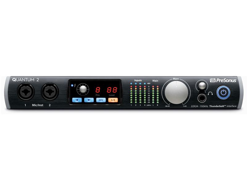 Аудиоинтерфейс PreSonus Quantum 2 axelvox skymia hd аудиоинтерфейс