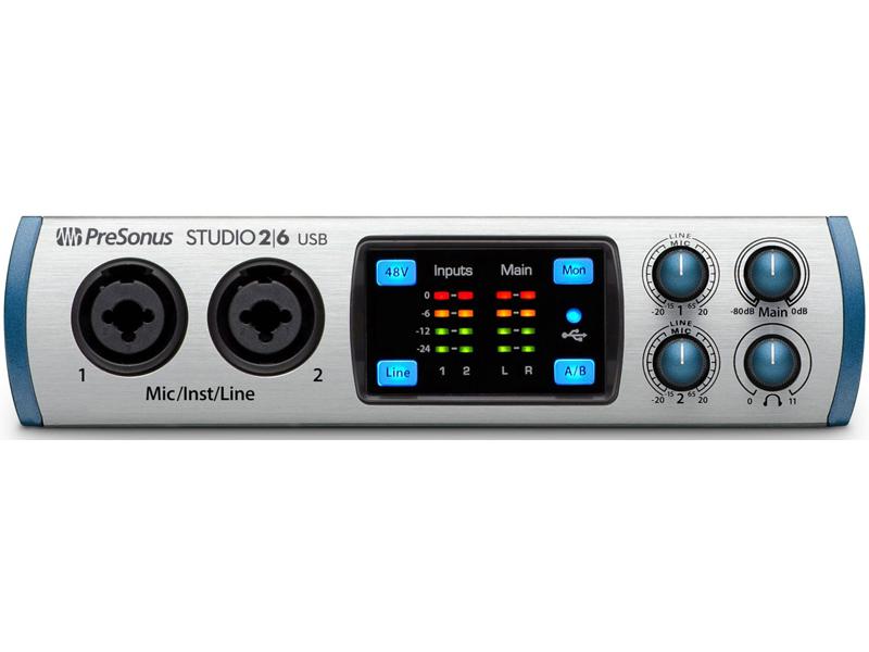 Аудиоинтерфейс PreSonus Studio 26 все цены