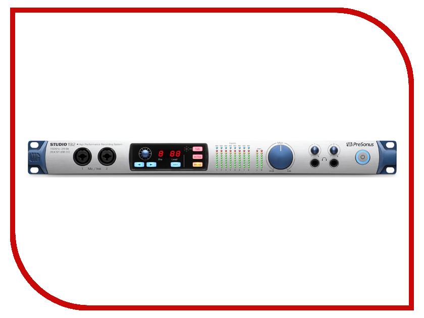 Аудиоинтерфейс PreSonus Studio 192 presonus air12