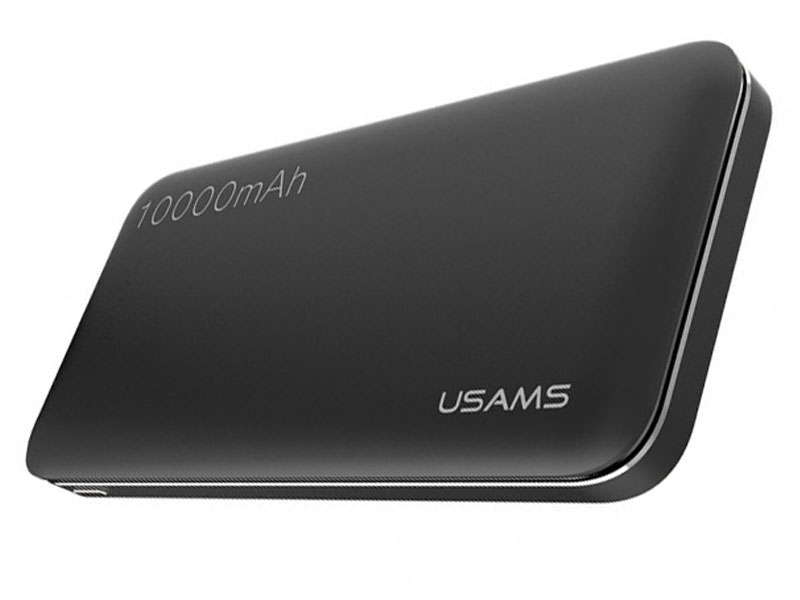 Аккумулятор Usams LESU Series US-CD13 10000mAh Black аккумулятор usams mosaic series us cd21 10000mah black