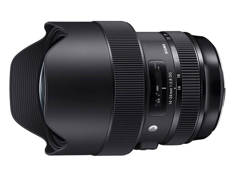 Объектив Sigma 14-24mm f/2.8 DG HSM Art Canon EF цены
