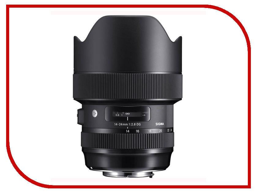 Zakazat.ru: Объектив Sigma 14-24mm f/2.8 DG HSM Art Nikon F