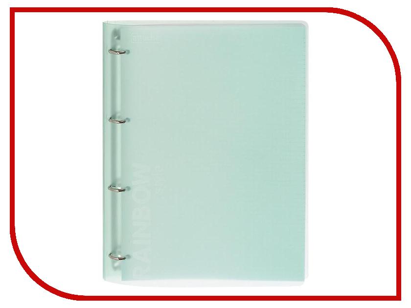 Бизнес-тетрадь Attache Rainbow Style A4 Green 618394 a4 rainbow expanding document folder 13 pocket school portable accordion bag