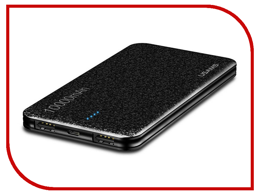 Аккумулятор Usams Mosaic Series US-CD21 10000mAh Black держатель usams us zj023 silver