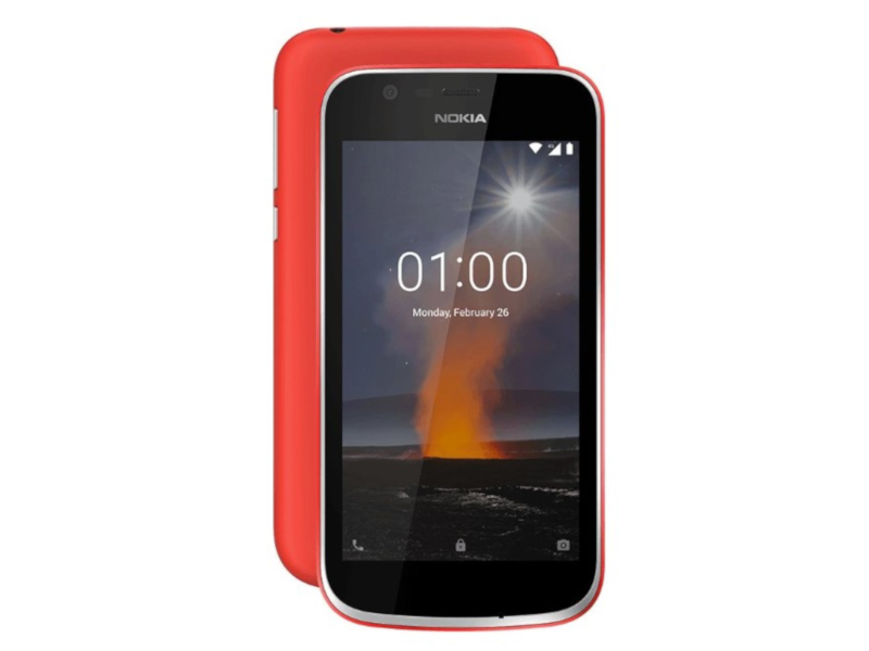 Сотовый телефон Nokia 1 (TA-1047) Red смартфон nokia 1 ds ta 1047 dark blue