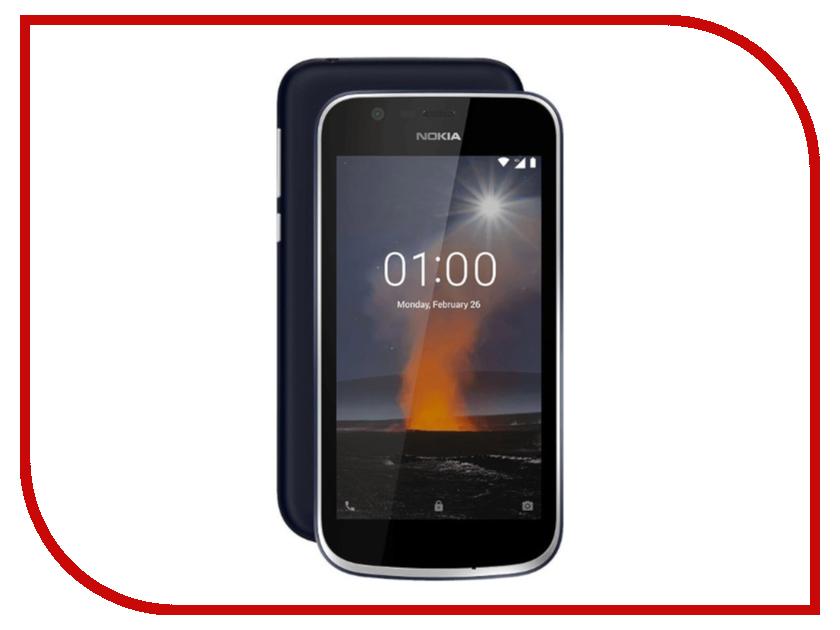 Сотовый телефон Nokia 1 Blue радиобудильник rolsen rfm 300 венге 1 rldb rfm 300