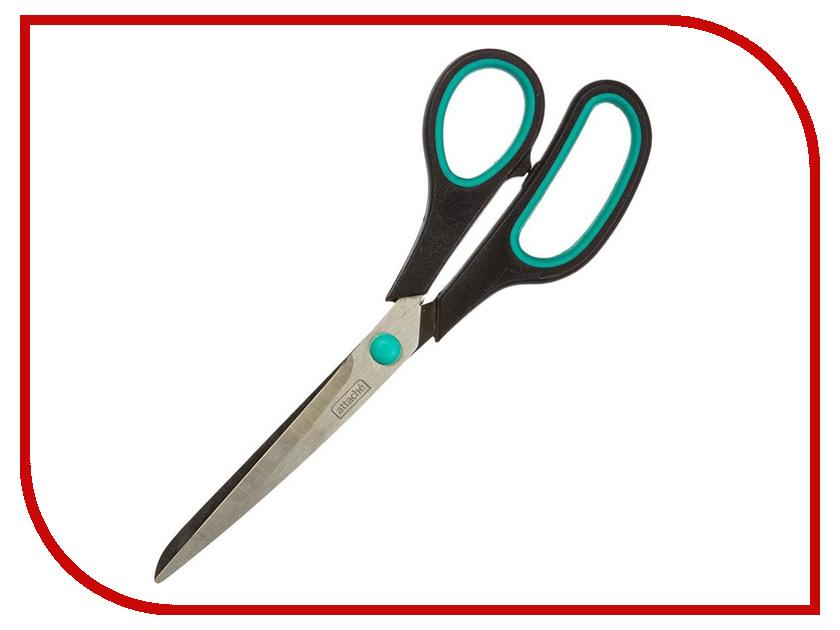 Ножницы Attache Green-Black 262866 bonatech 03120261 miniature 0 36 inch digital tube black green 4 80 30 0v