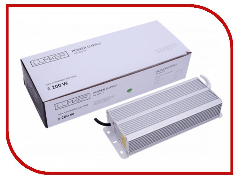 Блок питания Lumker TPW VA-200-12 200W 12V IP66