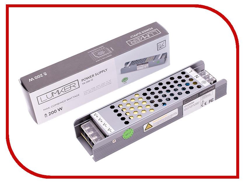 Блок питания Lumker LUX YA-200-12 200W 12V IP20