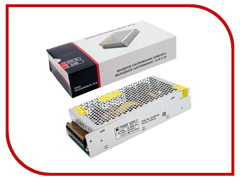 Блок питания Lumker S-200-24 200W 24V lumker блок питания для светодиодной ленты lumker lux 150w 24v ip20 ya 150 24