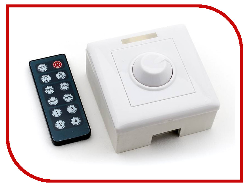 Контроллер Lumker IR-DIM-W-8A White zhueran zea afs004 water resistant 1 3 cmos 600tvl surveillance camera w 20 ir led white pal