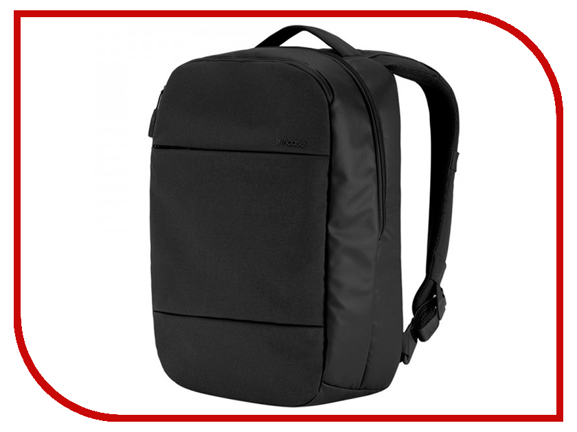 Рюкзак Incase 15.0-inch Compact Backpack with Diamond Ripstop Black INCO100358-BLK рюкзак incase 15 0 inch city collection compact black cl55571