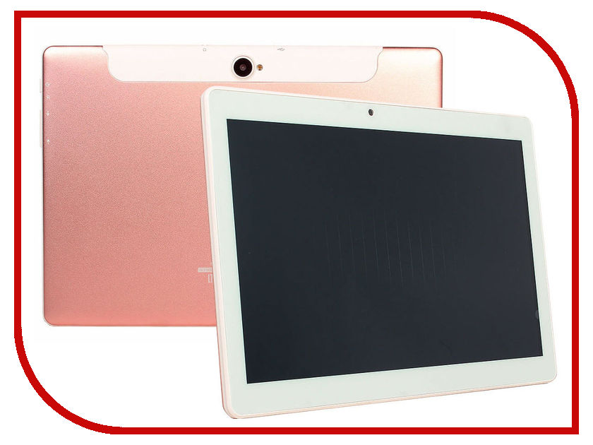 Планшет Ginzzu GT-1040 Pink-Gold (Spreadtrum SC9832 1.3 GHz/1024Mb/16Gb/GPS/LTE/Wi-Fi/Bluetooth/Cam/10.1/1280x800/Android)