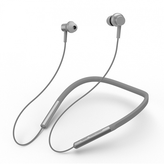 Наушники Xiaomi Mi Collar Bluetooth Headset LYXQEJ01JY Grey