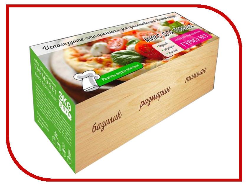Купить Растение ЭкоДом Гурмэ Set Микс для пиццы Базилик, Розмарин, Тимьян 1061843804698
