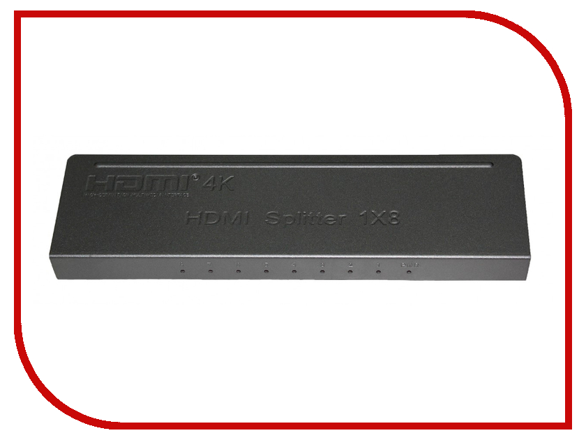 Сплиттер Palmexx 1xHDMI - 8xHDMI PX/HDMI*8 клавиатура palmexx px kbd mini wireless bk