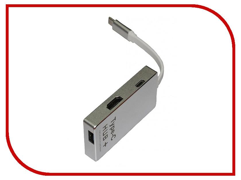 Хаб USB Palmexx Type-C - HDMI + карт-ридер YC-210 PX/HUB-TypeC-YC210