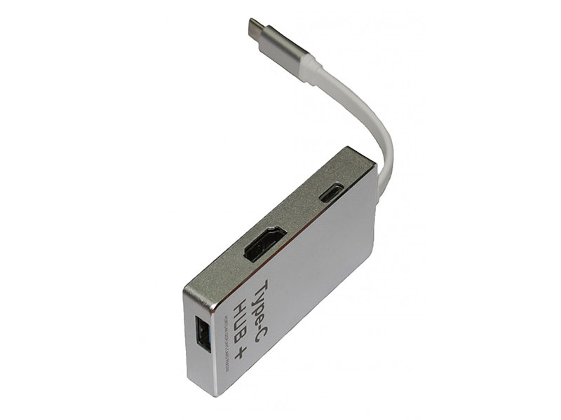 Хаб USB Palmexx Type-C - HDMI + карт-ридер YC-210 PX/HUB-TypeC-YC210