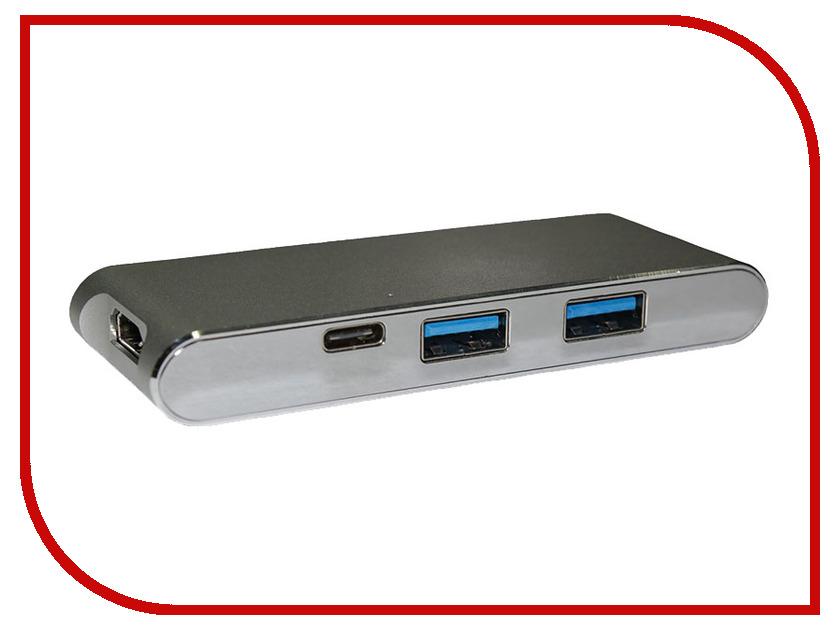 Хаб USB Palmexx Type-C - HDMI + карт-ридер YC-204 PX/HUB-TypeC-YC204