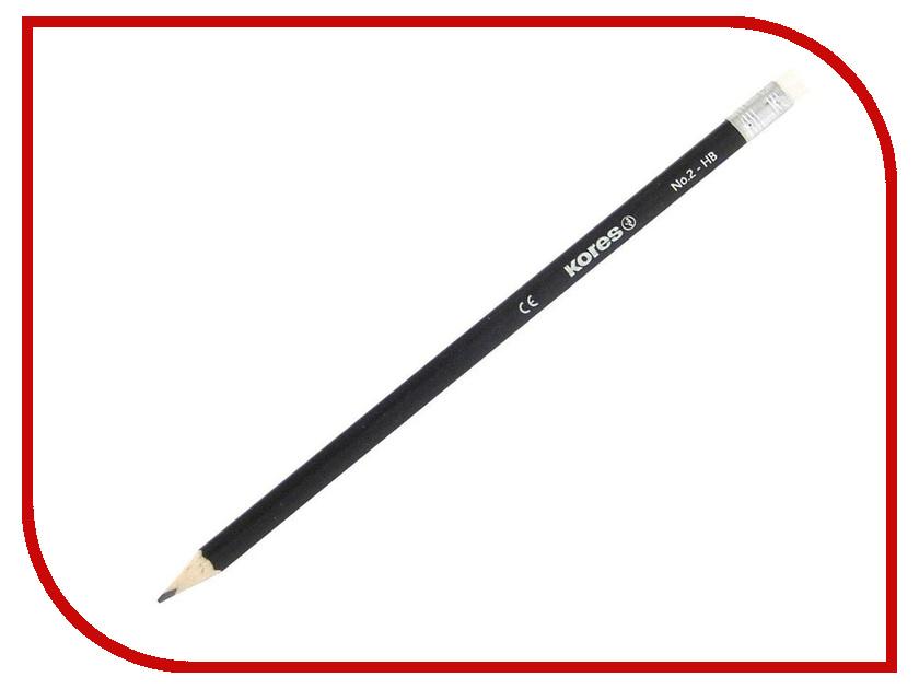 Карандаш чернографитный Kores 128909 точилка kores карандаш 212405
