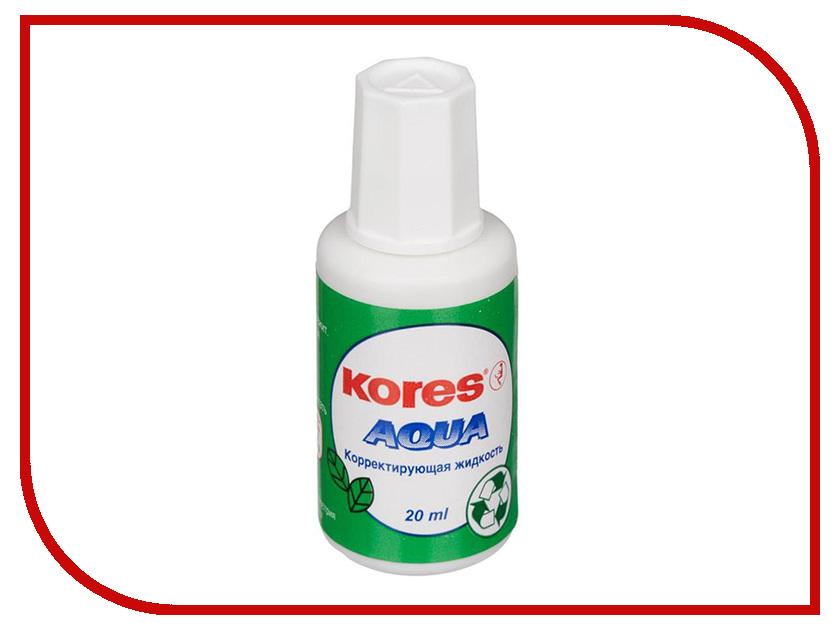 Корректирующая жидкость Kores Aqua 20ml 60906 фонарь fenix ld15r cree xp g3