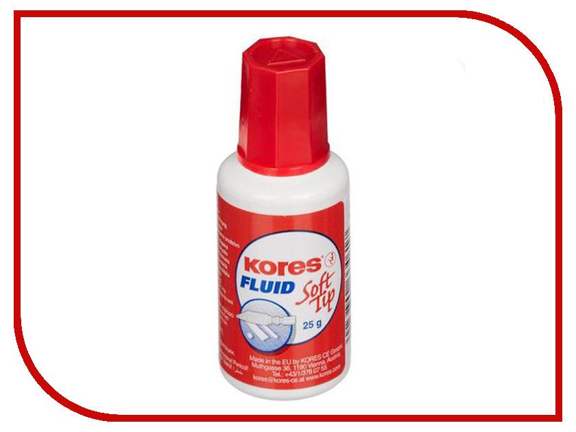 Корректирующая жидкость Kores Soft Tip Fluid 25ml 620 жидкость для генераторов эффектов martin pro c plus fluid