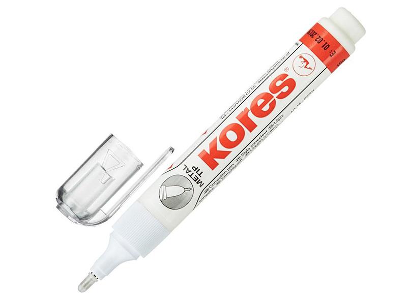 Корректирующий карандаш Kores Metal Tip 8ml 5436