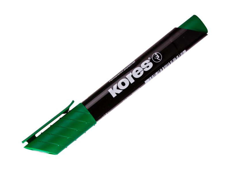 Маркер Kores 1.5-3mm Green 204451