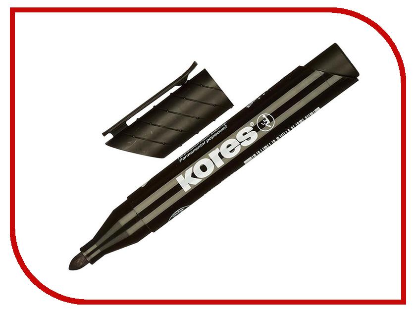 Маркер Kores 1.5-3mm Black 204448 маркер kores 1mm red 282355