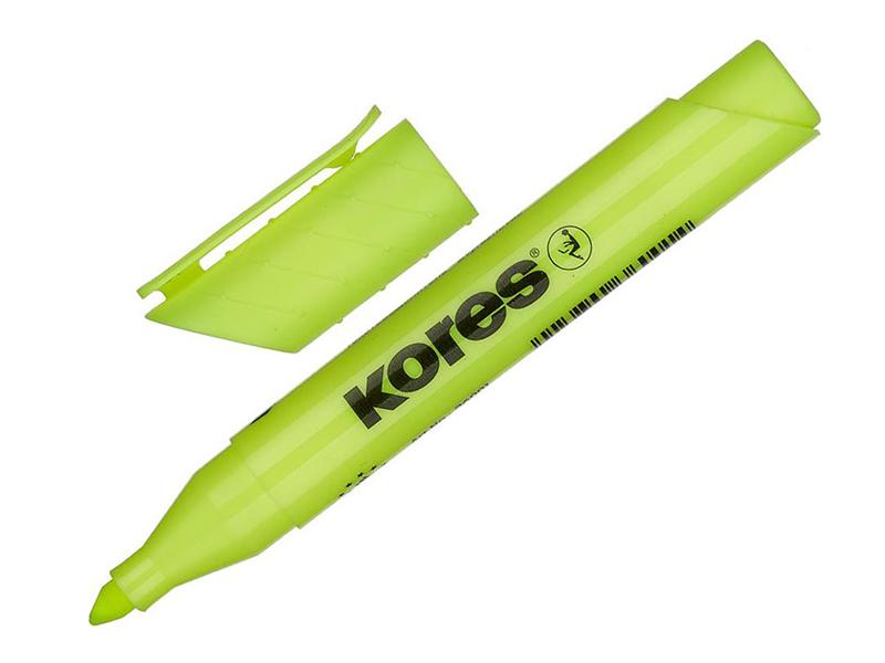 Маркер Kores 1-4mm Yellow 479023