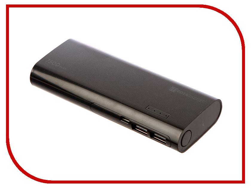 Аккумулятор Media Gadget 7500mAh Black MGXPC075BK