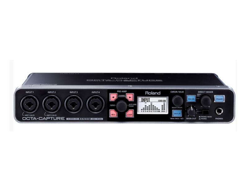 Аудиоинтерфейс Roland Octa-Capture UA-1010 micro tesla coil