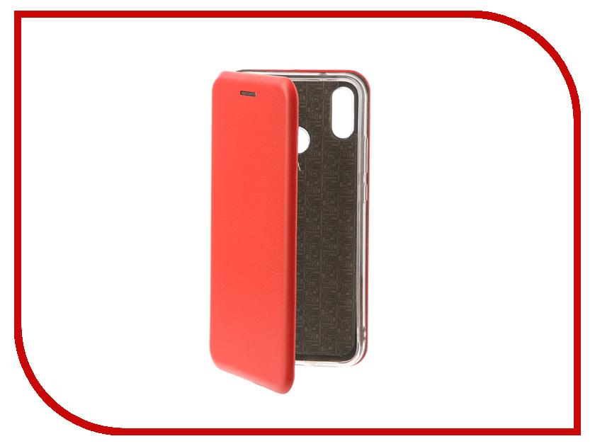 Аксессуар Чехол для Huawei P20 Lite Zibelino Book Red ZB-HUW-P20-LT-RED аксессуар чехол samsung j3 2017 j330f zibelino clear view black zcv sam j330 blk