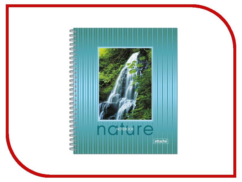 Тетрадь Attache A5 80 листов 14407 блокнот attache fantasy a5 80 листов light blue 309368