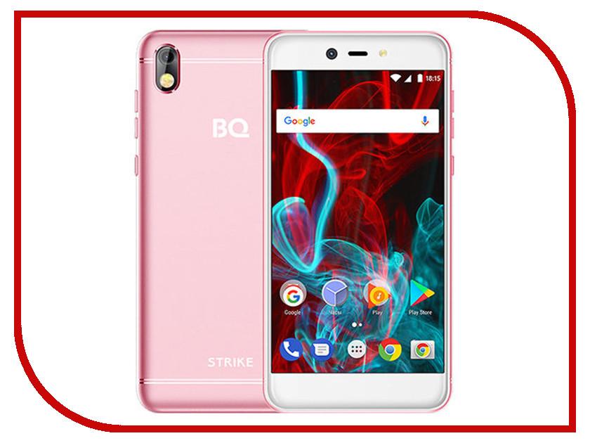 Сотовый телефон BQ BQ-5211 Strike Pink смартфон bq bq 5211 strike dark gray