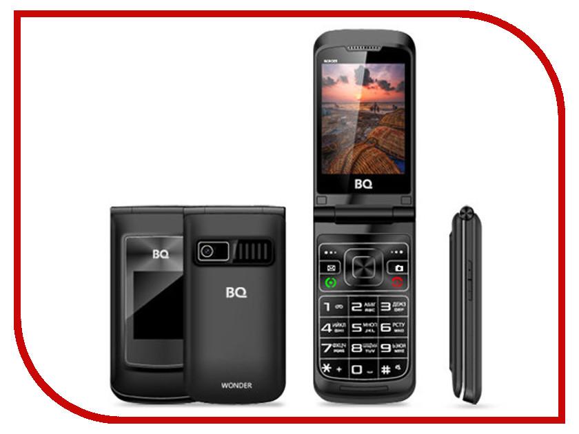 Сотовый телефон BQ BQ-2807 Wonder Black сотовый телефон bq 1807 step black