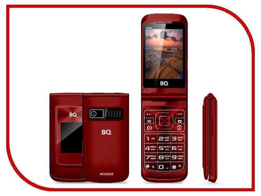 Сотовый телефон BQ BQ-2807 Wonder Red сотовый телефон digma linx a177 2g