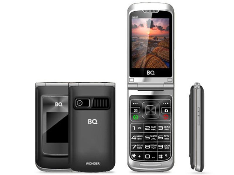 Сотовый телефон BQ BQ-2807 Wonder Grey смартфон bq bq 5517l twin pro grey