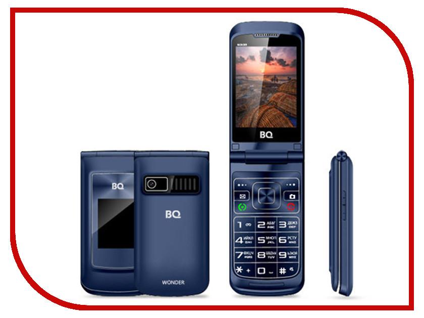 Сотовый телефон BQ BQ-2807 Wonder Blue мобильный телефон bq mobile bq 2425 charger blue