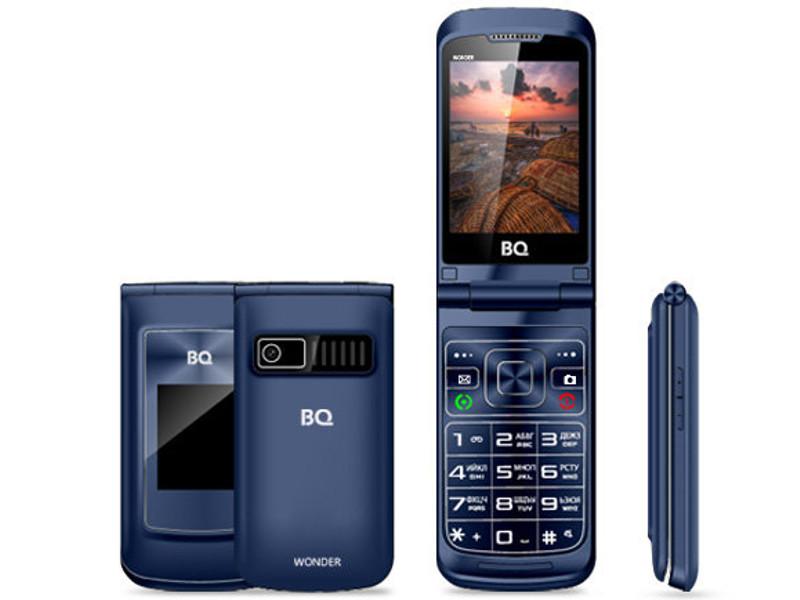 Сотовый телефон BQ BQ-2807 Wonder Blue мобильный телефон bq 2807 wonder brown