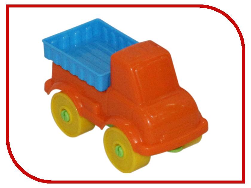 Конструктор Полесье Юный путешественник - Автомобиль грузовой 7 дет. 55279 игрушка полесье volvo автомобиль трейлер автокар конструктор супер микс 30 дет 58409