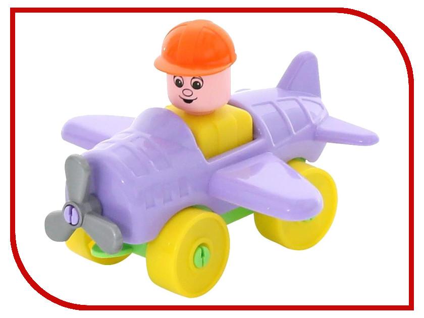 Конструктор Полесье Юный путешественник - Самолёт 10 дет. 55378 конструктор lepin star plan истребитель набу 187 дет 05060