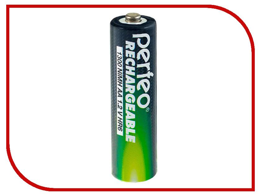 Аккумулятор AA - Perfeo AA/2BL 1300 mAh (2 штуки) аккумулятор aa videx hr6 600 mah 2bl