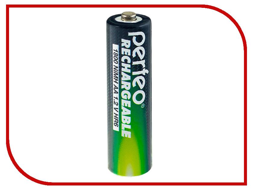 Аккумулятор AA - Perfeo AA/2BL 1800 mAh (2 штуки) батарейка perfeo r20 2bl dynamic zinc 2 штуки