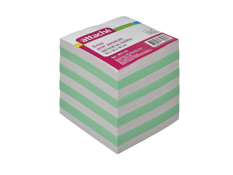 Стикеры Attache Эконом 90x90x90mm Colorful 605145