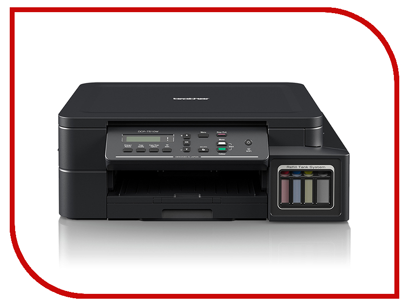 МФУ Brother DCP-T510W бумага brother tzen231