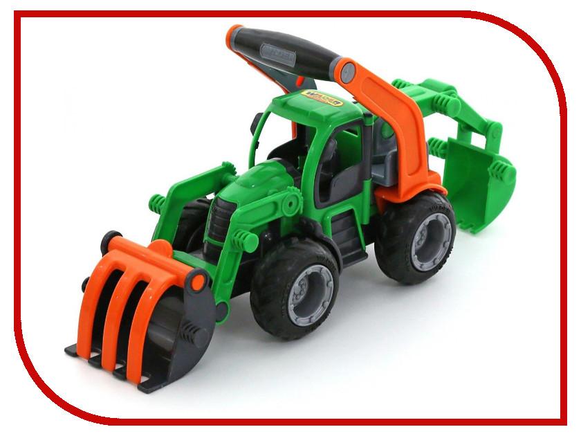 купить Игрушка Полесье Трактор-погрузчик с ковшом ГрипТрак 37374 по цене 707 рублей